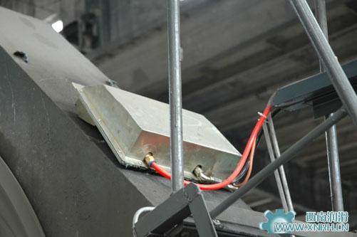 球磨机喷射润滑系统应用现场