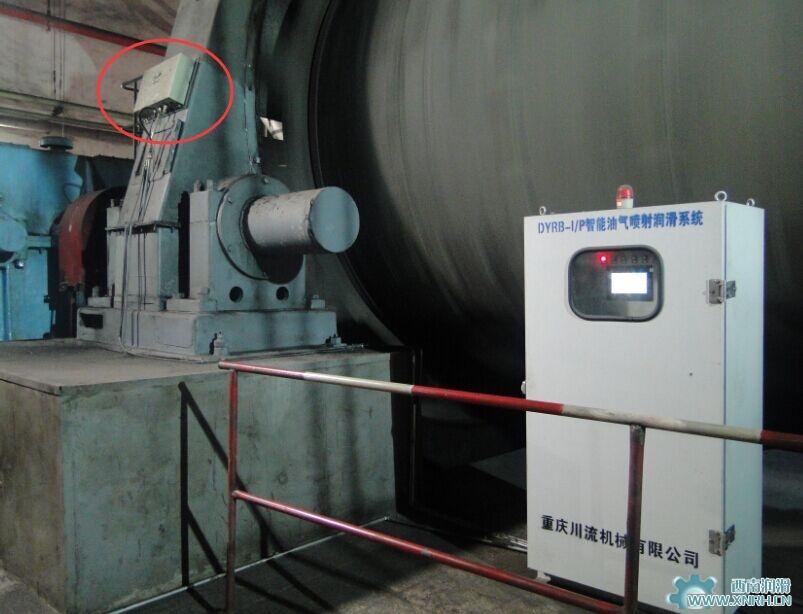 球磨机开式齿轮喷射润滑系统