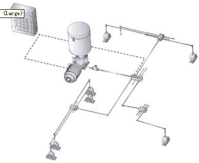 球磨机润滑监控系统网络接线图