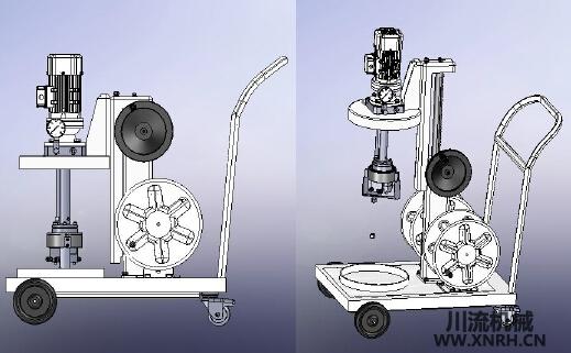 TSRZ-100XZ (D)移动式注脂机